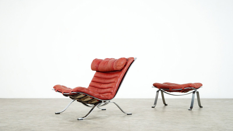 famous Arne Norell Ari Lounge Chair