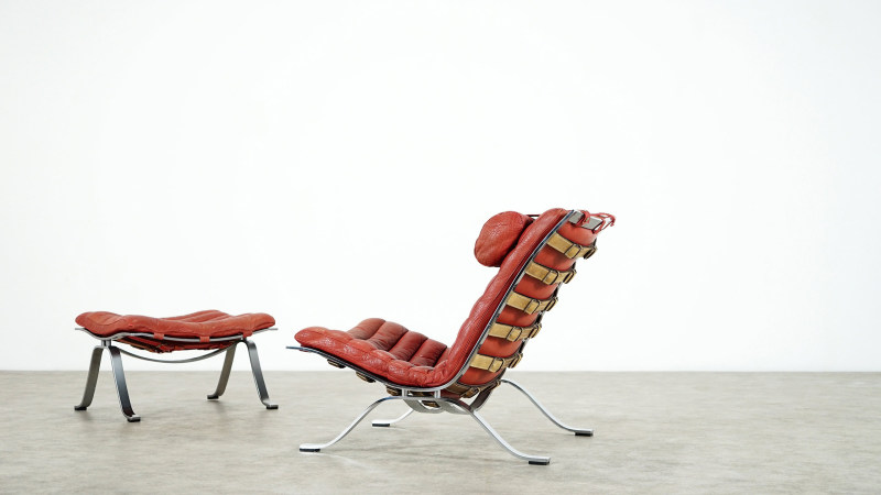 Arne Norell Ari Lounge Chair left side