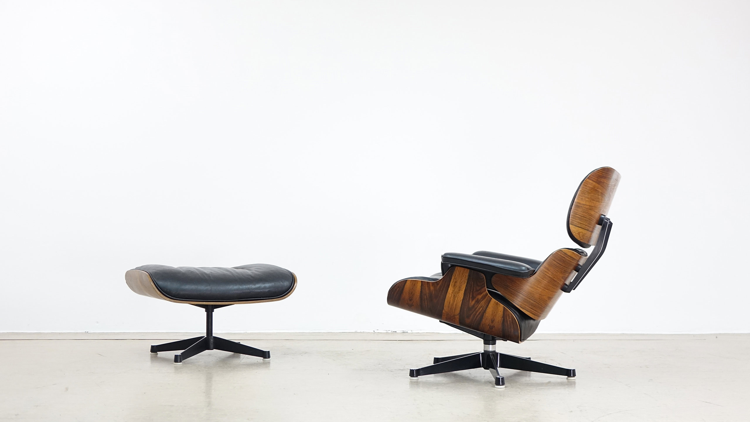 Charles & Ray Eames Lounge Chair by Contura & Fehlbaum