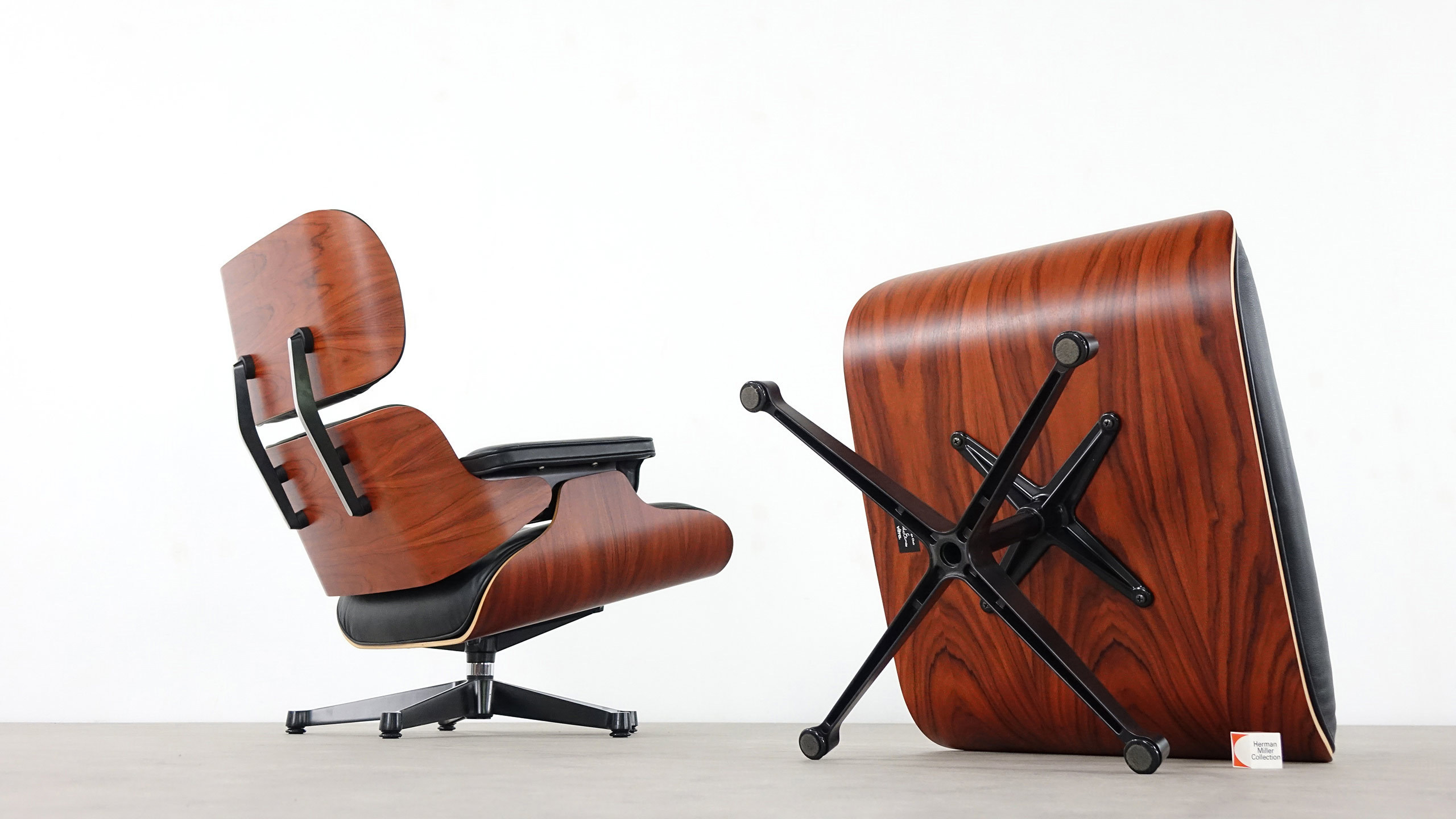Herman Miller Eames Ottoman Charles Eames Lounge Chair By