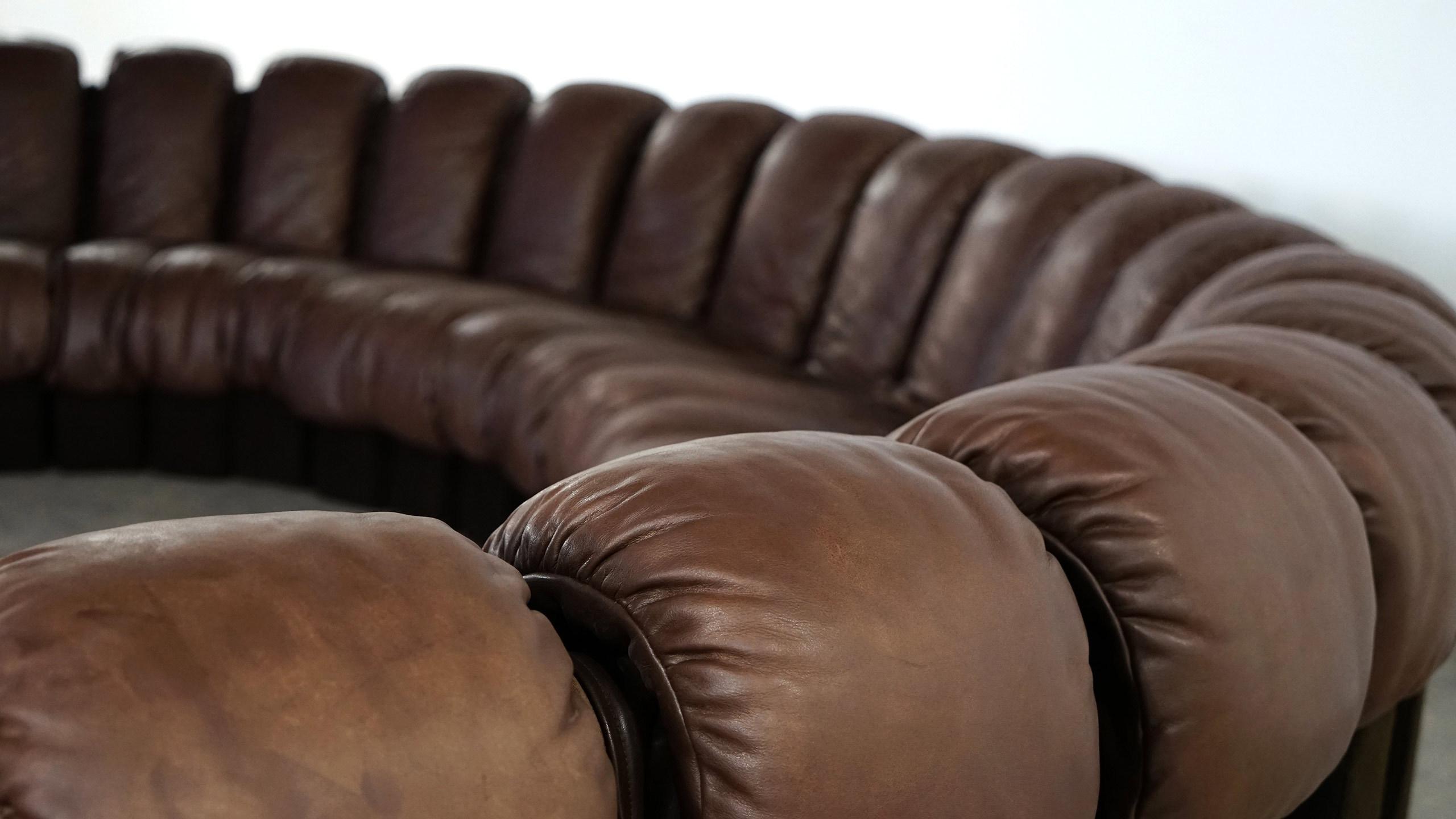 de sede endless sofa ds 600 ueli berger 1972 zorrobot. Black Bedroom Furniture Sets. Home Design Ideas