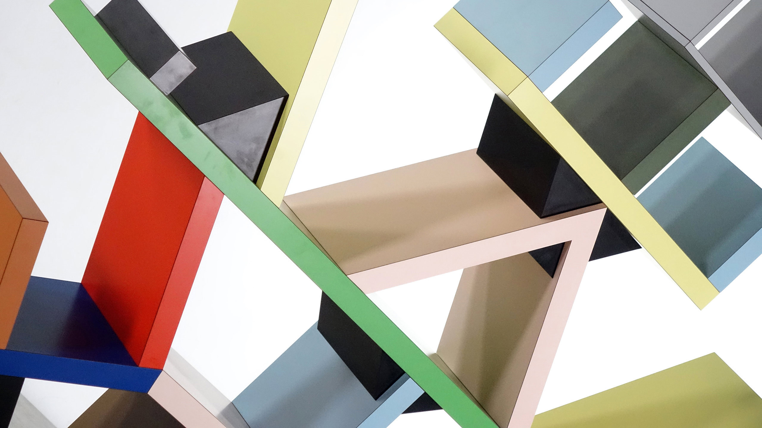 Ettore Sottsass Carlton Room Divider 1981 By Memphis