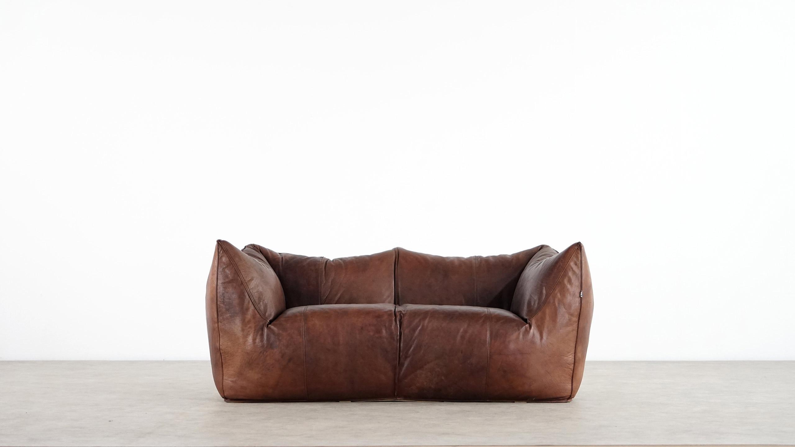Mario bellini le bambole sofa 1972 for b b italia for B b sofa