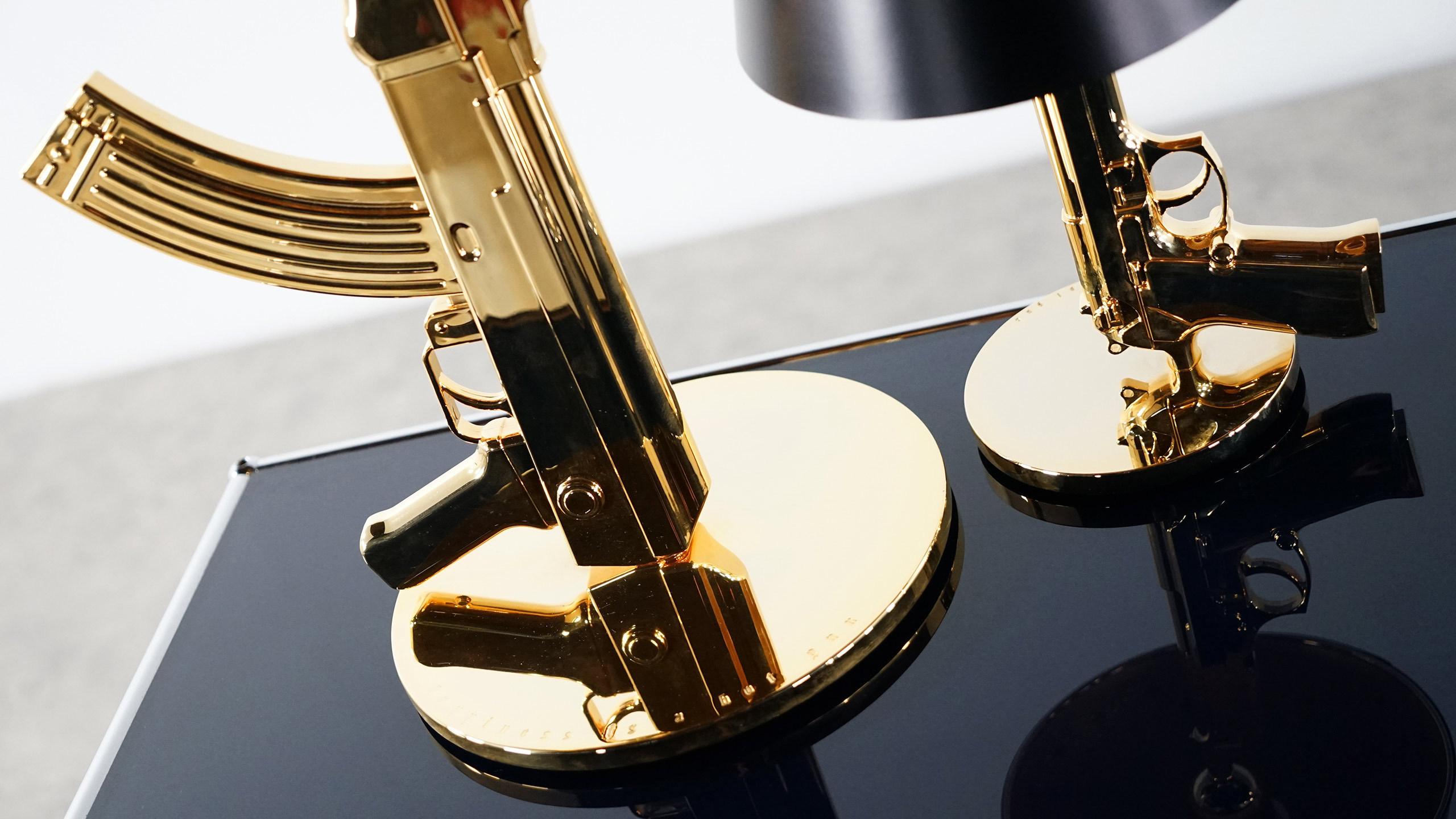Philippe Starck Gun Lamp For Flos Bedside Gun Table Gun