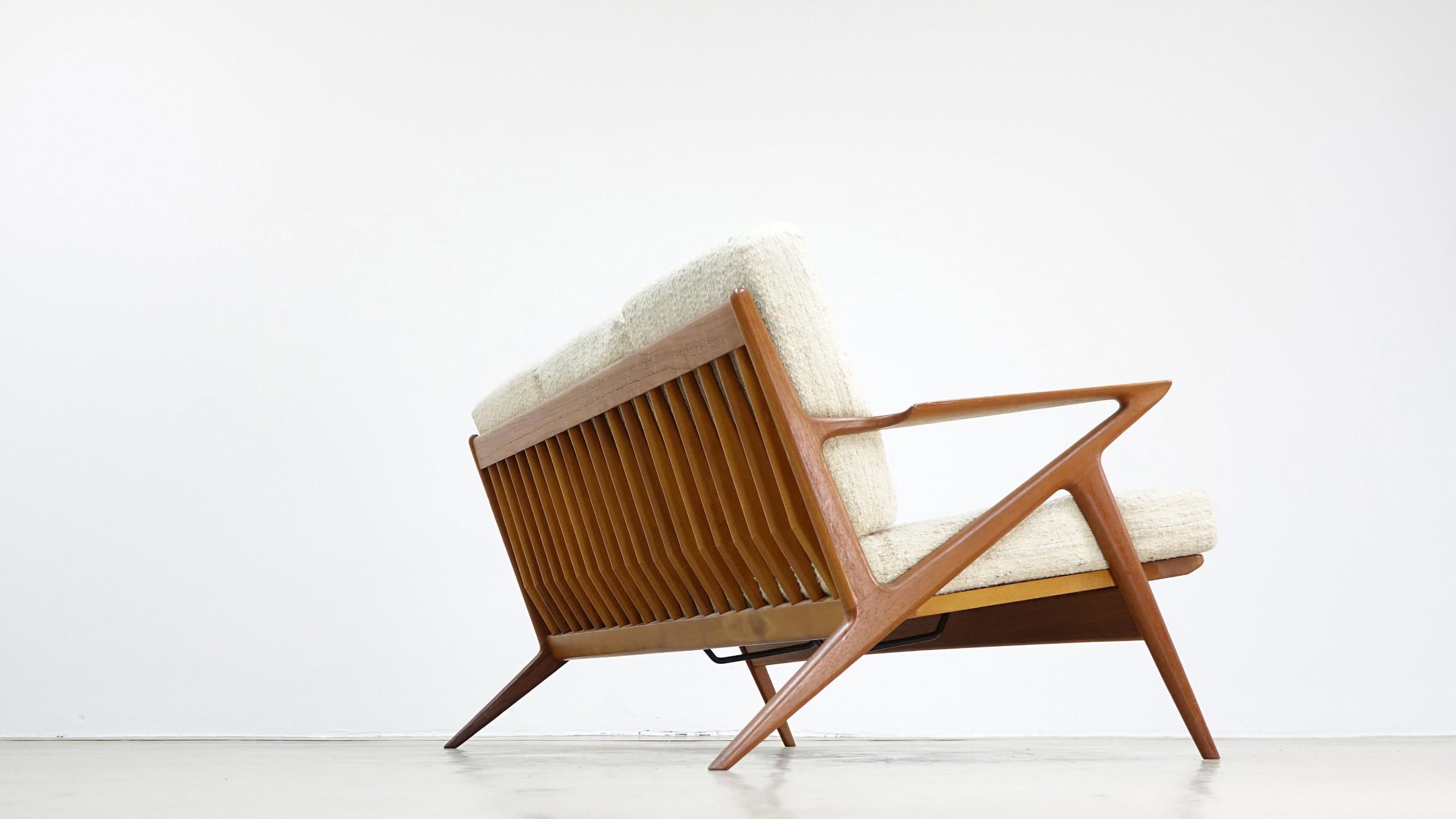 Poul Jensen Z Sofa By Haslev & Selig, Denmark