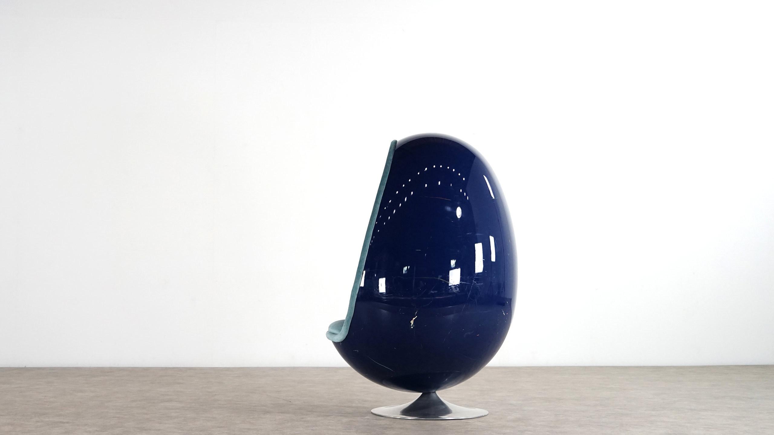 Thor Larsen Egg Chair Ovalia 1968