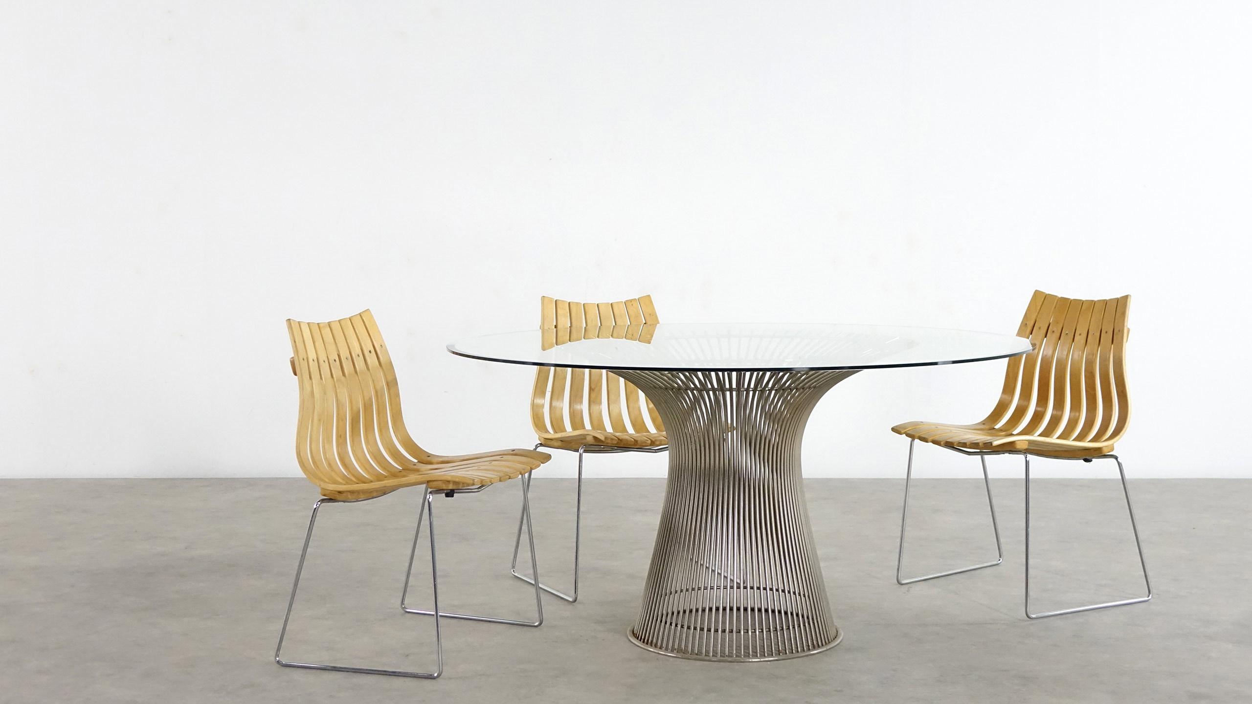 Warren Platner Glas Dining Table 1966 Knoll International