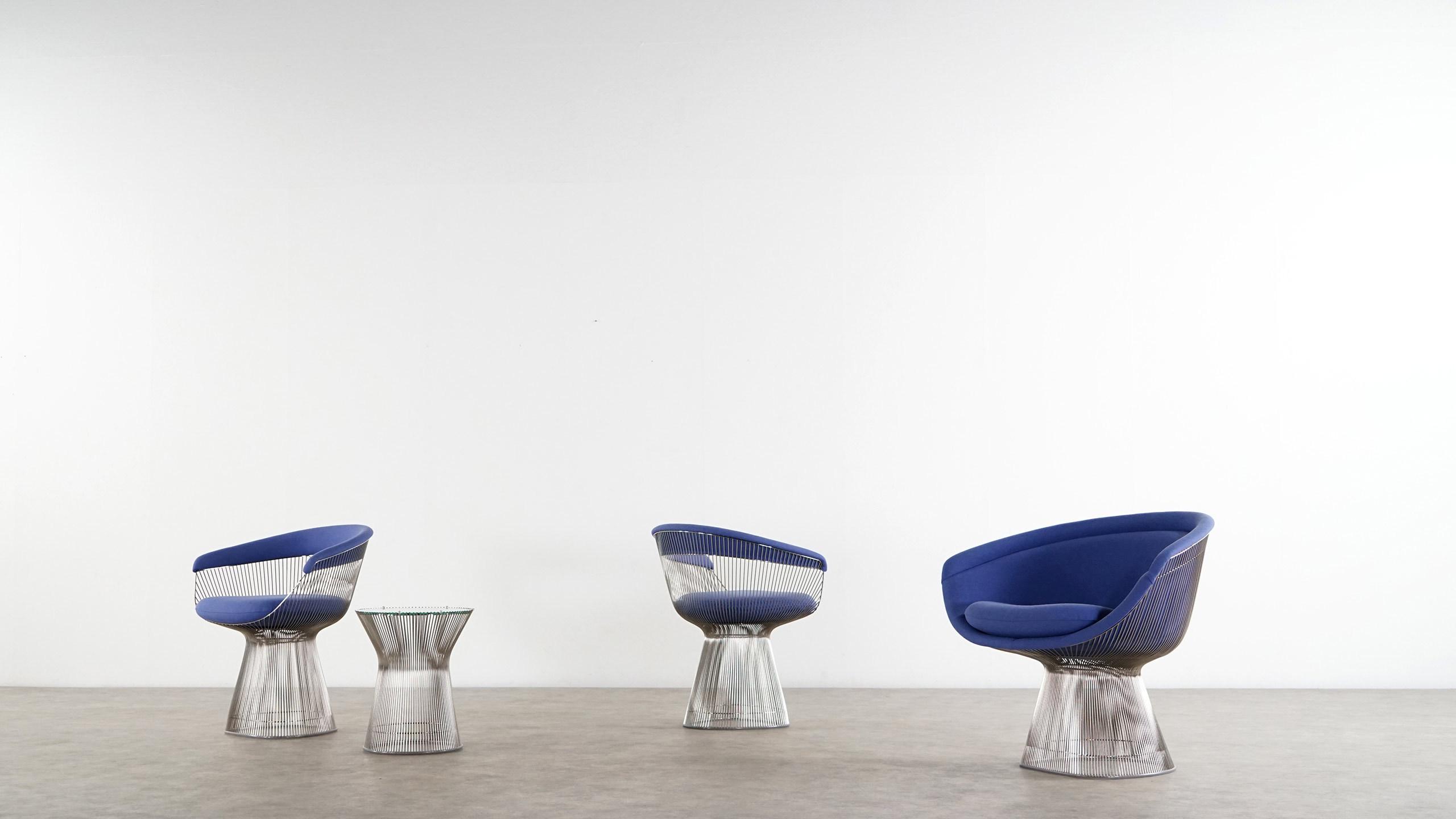 Warren Platner Lounge Chair Armchair Knoll International